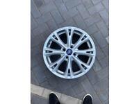 Ford Fiesta snowflake alloy