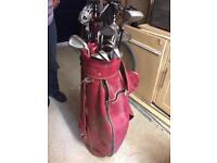 Women's Golf Club Set and Bag
