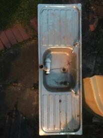 """Garage sink 54""""x18"""""""