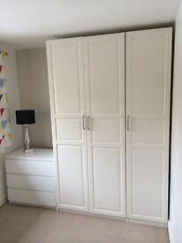 3 Doors Ikea Pax Wardrobe