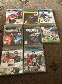 Ps3 games mint condition