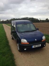 Renault kangoo ** diesel ** long mot ** drives well