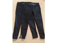 Zara jeans, 2 pairs, size 10uk