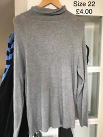 Women's Knitted Tops size 22