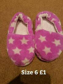 Size 6 M&S slippers