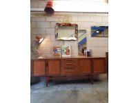 G Plan Fresco Mid Century Teak Vintage Sideboard