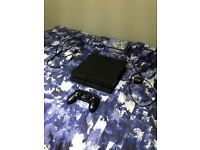 1TB Sony PlayStation 4 (Including 1 Controller, mic, HDMI cable, Power cable & 4 Games)