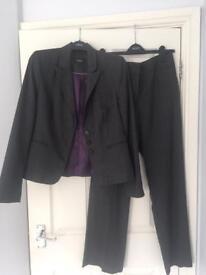 Ladies Next trouser suit, size 12, vgc
