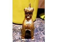 Antique Brass Oriental figurine