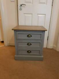 Fabulous Three Drawer Bedside Drawers Brand New