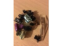 Collection of 13 Hair Clips