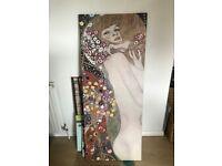 Gustav Klimt Artwork reproduction IKEA