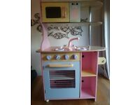 Childrens Wooden Kitchen and many extras