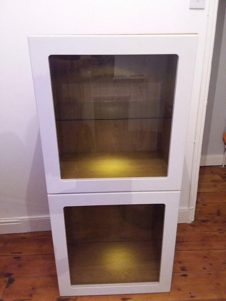 Best Cabinet With Glass Doors Ikea In Totterdown Bristol Gumtree