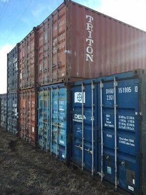 Shipping Containers. 20 Foot. Affordable Nationwide Delivery.