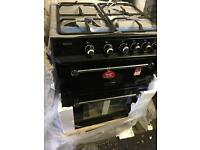 RANGEMASTER Kitchener 60 Gas Cooker - Black. £549.99