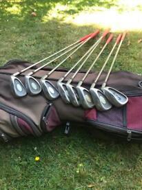 Full set of Slazenger Irons