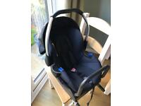 Hauck Car Seat and Base