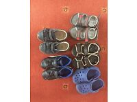 Baby boy size 7 shoes bundle