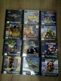 Sony Playstation One (PS One) Games - Job Lot - Croc, Pac Man Etc...