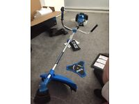 52cc strimmer/bush wacker used 2 times brand new condition