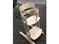 Baby Dan high chair natural