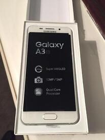 Samsung Galaxy A3 2016 White As New