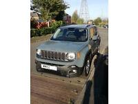 Jeep Renegade 1.6 Longitude SUV Diesel **Extended Warranty**