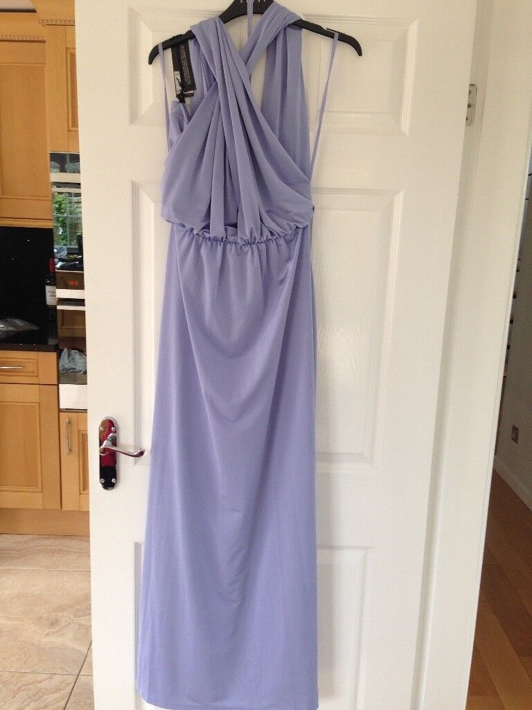 Size 10 mid blue multiway bridesmaid dress debut debenhams brand size 10 mid blue multiway bridesmaid dress debut debenhams brand new with tags rrp 99 ombrellifo Images