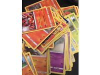 100 Pokemon cards