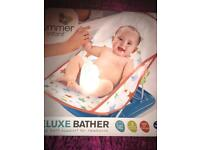 DELUXE BABY BATHER BATH SEAT