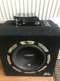 Vibe slick SLR 10 1,050W sub and amp