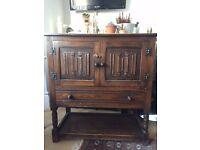 Vintage Wooden Unit Bedroom/Living room