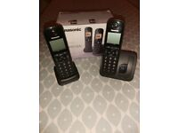 PHONE SET ***PRICE REDUCED*** PANASONIC TWIN DIGITAL CORDLESS
