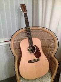 Martin DX1AE Guitar for sale - acoustic/electric. Excellent condition.