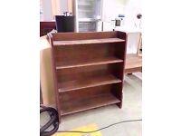 Wooden kitchen shelves 77cm wide