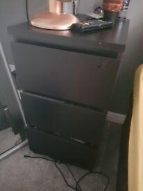 Ikea Malm Bedside Tables