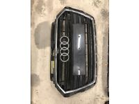 Used, AUDI A3 S LINE FRONT BUMPER MAIN GRILL FACE LIFT 2016-2019 for sale  Bradford, West Yorkshire