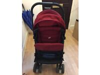 Joie Mirus Poppy Red Pushchair for sale