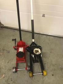 2x3 Tonne trolley jacks