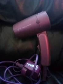 Purple GHD Travel Hair Dryer