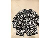 Size 10 chunky knit cardigan