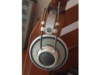 Pro Reference Headphones : Model K701 ,by Austrian Headphone manufacturers AKG