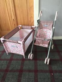 Graco Cot and Buggy