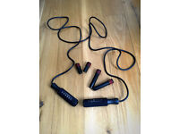 Skipping rope with weights (free)