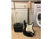 Starcaster by Fender guitar and amp