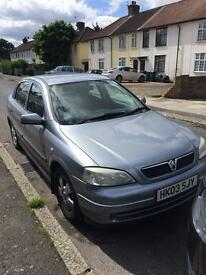 Vauxhall Astra 1.6 For Sale! URGENT SALE NO TIME WASTERS.