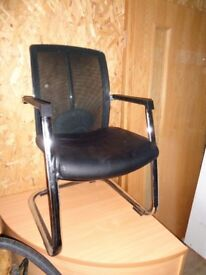 Office Chairs With Steel Tube Frames