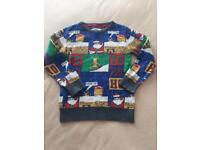 NEXT Xmas jumper age 5 years