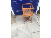 Mahogany wash stand. Must be seen . Feel free to to view. Free local delivery.
